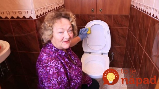 Gazdinka poradila najjednoduchší spôsob, ako udržať toaletu perfektne čistú a bielu: Ako nová a neminiete ani Euro!