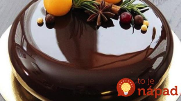 Žiaden stužený tuk ani olej: Recept na dokonalú zrkadlovú polevu priamo od cukrárky – výsledok očarí každého!