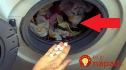 11 neoceniteľných trikov, ktoré pri praní odevov využijete denne: Kto ich pozná, ten poriadne ušetrí a bielizeň mu žiari čistotou!