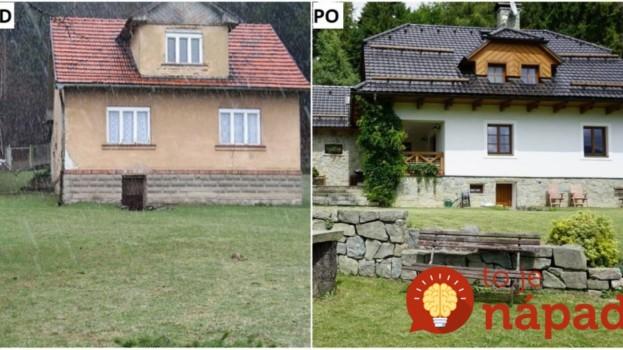 Rozpadnuté staré domy dokázali premeniť na prekrásne chalupy! 12 najkrajších rekonštrukcií PRED a PO.