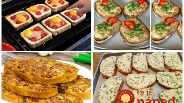 Studené chlebíky pre návštevy nerobím, každý pýta len toto: 17 nápadov na najchutnejšie teplé predjedlo z pečiva!