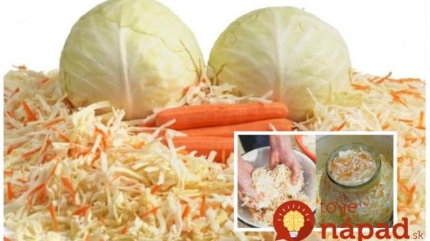 Len kapusta a mrkva – to je všetko: Najlepší šalát plný vitamínov – netreba sterilizovať a chutí fantasticky celé mesiace!