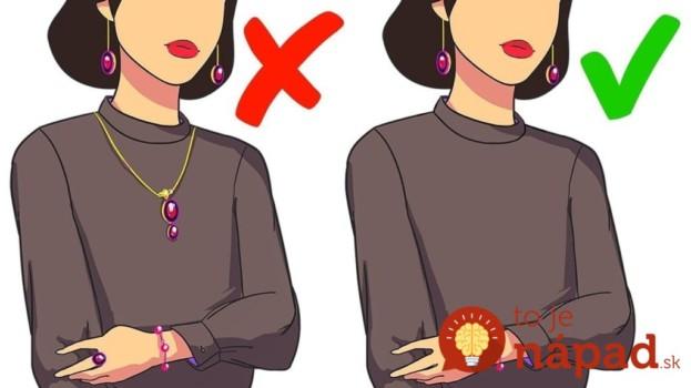 14 zlatých pravidiel obliekania, ktoré by sa mal raz a navždy naučiť každý: Neuveríte, čo všetko to o vás prezradí!