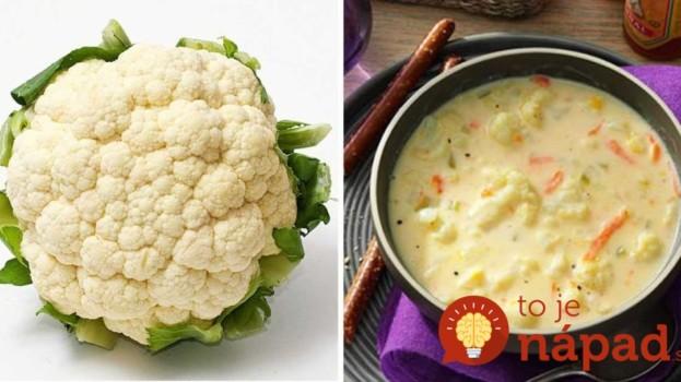 U nás sa polievky veľmi nemusia, ale keď spravím túto, hneď je prázdny hrniec: Rýchla karfiolová so syrom a mrkvou – výborná!