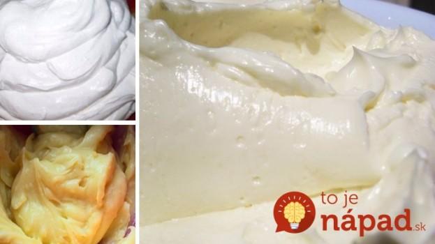 Toto pred sviatkami vyvážite zlatom: 13 najlepších krémov do všetkých vašich dezertov, ktoré viete rýchlo pripraviť – na jednom mieste!