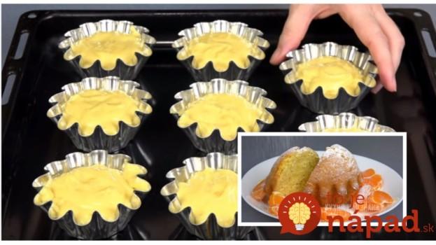 Zaručene najlepšie muffiny na svete: To cesto z kyslej smotany je také ľahučké a výborné, že nepotrebuje už nič pridávať!