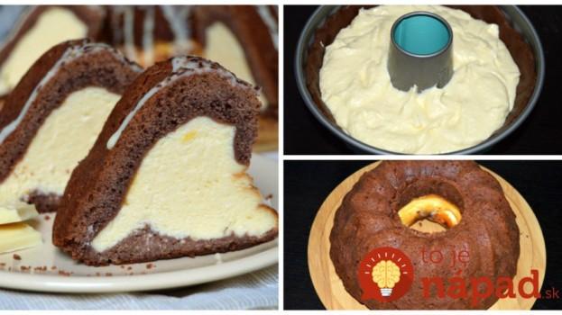 Úžasná slávnostná bábovka s tvarohom a bielou čokoládou: Len rozkrojte a vaši hostia budú ohromení – robím ju aj namiesto torty!!