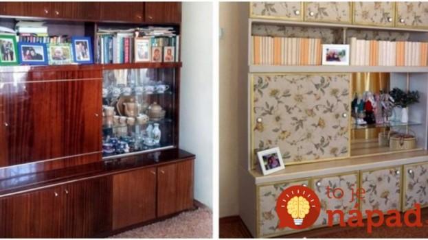 Nevyhadzujte starý nábytok, takto ho môžete obnoviť: Premena číslo 9 je jedným slovom úžasná!