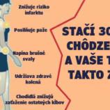 Zabudnite na beh a drepy: Stačí len 30 minút chôdze denne a toto sa stane s vašim telom v rekordnom čase !