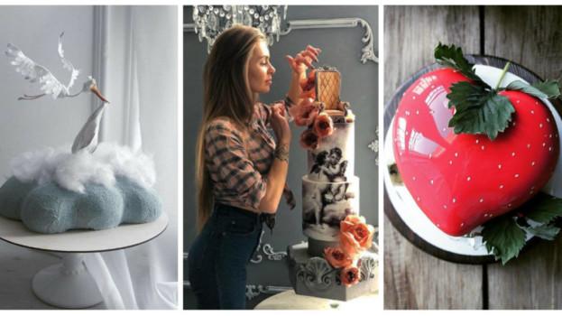 Ruská cukrárka vytvára úchvatné torty, ktoré je škoda zjesť: Jej výtvory sú nadpozemsky krásne!