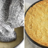 Tento makový koláč s tvarohom v našom dome vyhráva: Absolútne jednoduchý a rýchly recept!