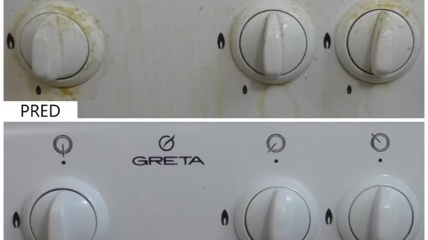 Čistenie špinavých gombíkov na plynovom sporáku za menej ako 5 minút: Efektívne a bez námahy!
