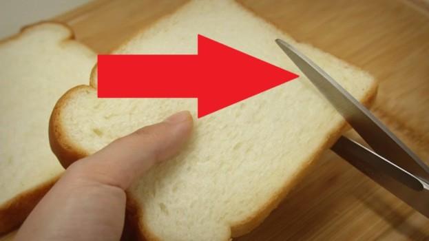 Zobrala len lacný toastový chlieb a nožnice: Kto cez víkend čaká návštevu, tento nápad vyváži zlatom – už žiadne studené chlebíčky!