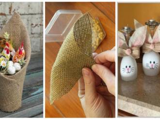 Keď budete v galantérii, vezmite aj kúsok vrecoviny: 21 nápadov, ako z nej vykúzliť fantastické jarné dekorácie!