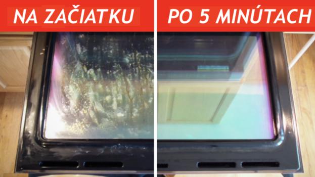 Najrýchlejší spôsob, ako vyčistiť sklo na rúre: Výsledok ma ohromil, sklo žiari ako zrkadlo!