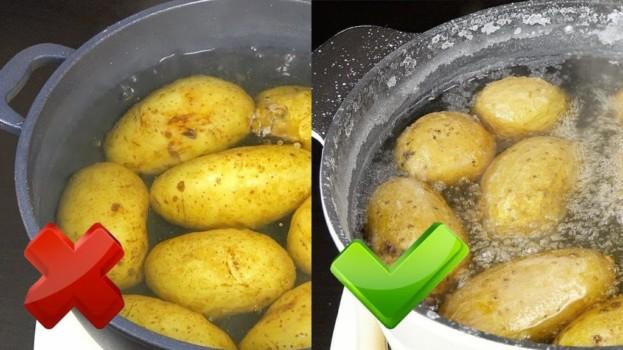Zemiaky varím skoro každý deň, ale toto by mi nenapadlo ani vo sne: Skúste to už dnes, keď ich budete variť k obedu!
